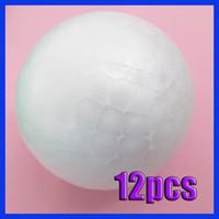 Wholesale 12x MM Modelling Polystyrene Styrofoam Foam Ball Sphere XMAS Decoration Craft