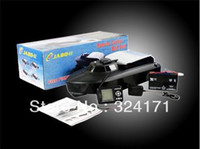 Wholesale EMS JABO BS Remote Control Bait Boat With Fish Finder Upgrade Eiditon of JABO B Jabo bs b RTR RC boat