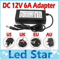 12v transformer - Charge Power Supply For V Led Strips High Quality V A W Led Transformers Adapter m Cable With EU AU UK US Plug