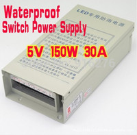 Wholesale DC V W A NEW Waterproof electronic LED Driver Power Supply Adapter Transformer units AC V V