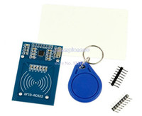 Wholesale New RC522 Card Read Antenna Security Proximity Sensor Smart RFID ID Card Reader TK0621