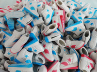 doll shoes - White Blue Red Sport Shoes Travel Shoes For Dolls Toy Sneakers Shoes Doll Accessories Factory