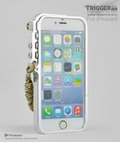 al designs - original Love Element design Trigger Tactical Edition Metal Al Moblie phone bumper case for apple iphone s g mei case