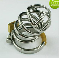 Cheap stainless steel cage Best Male metal cage