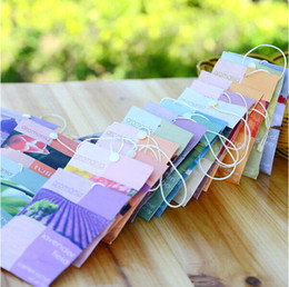 Wholesale Car Interior Accessories Car Freshener Wardrobe Air Freshener Spice Bags Hanging Ornaments Aromatherapy Bag