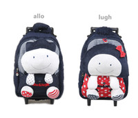 Wholesale Korea allo lugh A road and kindergarten children as trolley bag luggage trolley inspection counter