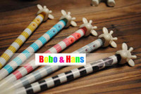 Wholesale New cute cartoon giraffe Mechanical Pencils automatic pencil Promotion Gift