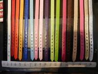 Precio de Snake skin-Pulsera brazalete correa de piel de serpiente de 8 mm, 8 mm encantos pulsera en forma de diapositivas en multicolor, 3 diseño
