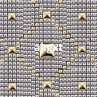 Wholesale x Fashion Pyramid Shape Metal Clothing Studs Rock Punk R381