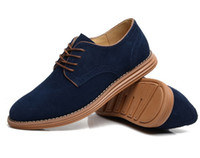 Wholesale 2014 Big Size European style genuine leather oxfords casual men shoes sneakers