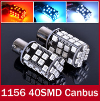 Wholesale 2X Powerful Canbus Error Free DRL LED White Red Blue Color PY21W Bulb for Audi A3 S3 P PA