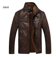 leather jackets for men - 2014 Men s Autumn Winter Casual Fur Collar XL Leather Jacket bmw jacket Man Lether Jackets For Men Jaquetas De Couro Masculina Men Coat