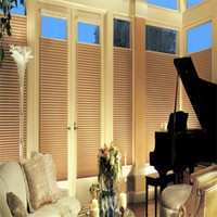 Wholesale Elegance Window honeycomb Blinds top down bottom up rails system light filter fabric piece cm X cm