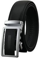 Wholesale Men Genuine Leather belts Second Layer Cowskin Brand designer Fashion Automatic buckle Cintos Cinturon MZ043 New arrival