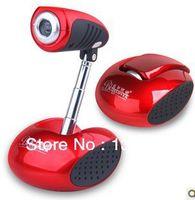 Cheap LANSHEYAOJI HD camera with microphone notebook desktop computer drive free video night vision