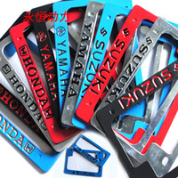 Cheap 125 Motorcycle Tuning Parts Yamaha scooter license plates decorative license plate frame license sets sets