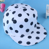 Ball Cap other Spot C large dot Korea stylenanda cute black and white minimalist flat along the trend of female hip-hop baseball cap[a9]