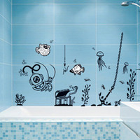 wall tile - 1 Set Waterproof Wallpaper For Bathroom Tile Decor Bathroom Wall Tile Stickers