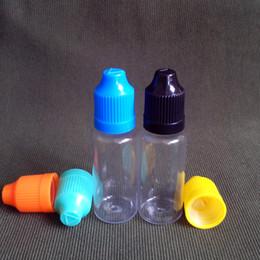 Wholesale 2014 Hoteles de PET de ml con Gotero de Botellas Con Tapa a prueba de Niños Y Larga y Fina de la Punta Gotero de Plástico Botellas de ml E Botella de Líquido Para E Cig