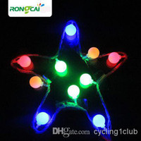 Wholesale Multicolour LED String Light colorful small bull light m m m Decoration Light for Christmas Party Wedding