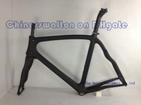 Wholesale TAIWAN repeat full carbon bike frame road bicycle carbon bikes include fork seat post headset carbon frame accept OEM paint