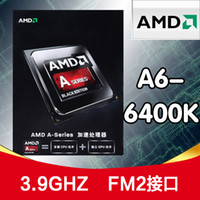 Wholesale Packed shipping AMD A6 K FM2 G dual core CPU clocked integrated graphics Genuine