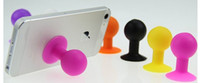 ball bracket - silicone itand octopus ball Design Stents Bracket Holder Stand Cases for Iphone S S Plus Samsung Galaxy S3 S4 S5 Note Note HTC