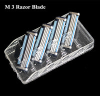 Wholesale Factory Retail M s Men Shaver AAA High Brand mach Shaving Razor Blades For Men with Ru Euro original package