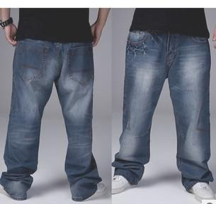 2017 Wholesale Plus Size 30 42 Loose Jeans Men, Brief Style Large ...