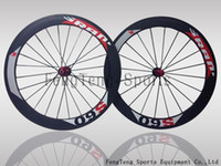 Wholesale SRAM S60 wheels mm rim full carbon road bike Wheelset wheels bicycle wheels include hubs spokes gifts sell colnago C59 cipnol