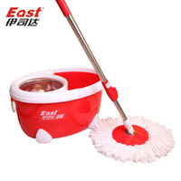 Cheap Life83 High quality Magic Spin Mop Bucket No Foot Pedal Rotate 360 Degree with 2 heads cleaning tools