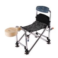 Wholesale Whole Sale Large aluminum folding stool reinforced anti shake versatile fishing chair fishing stool Free Shipment
