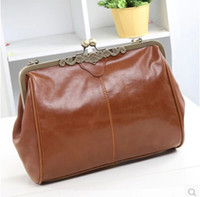 antique handbag - 2015 Women Messenger Bags Handbag New European And American Vintage Antique Bag Packet Casual Messenger Shoulder Mobile Woman