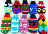 Wholesale Pet clothes pet sweater pet dog clothes spring foundation dog sweaters clothing pet cat and dog clothes