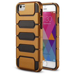 Wholesale iphone Plus inch Armour Defender Hybrid Cover Hard Rugged Gel Case For IPhone6