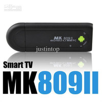 Wholesale MK809 II Bluetooth Android Mini PC Smart TV Stick Rockchip RK3066 Dual Core GHz Cortex A9 GB RAM GB