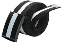 Wholesale Man Canvas Belt with Slide buckle Cintos Cinturon Military belts Brand designer High quality F017 New arrival