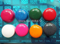 Wholesale Extra Color XL stamper Plug Refill Nail Art stamping head with XL stamper Set Plastic scraper Big Nail stamp