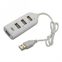 Wholesale New High Speed Port Mini USB Hub For Laptop PC Black White