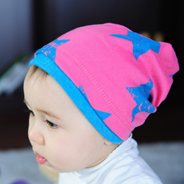 Wholesale 10pcs High quality fashion star baby hats caps cute baby beanie hat for boy girl Kid s many colors can choose soft hat