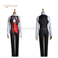 Wholesale Kisstyle Fashion Anime Amnesia IKKI TOMA Work Clothes Uniform Cosplay Costume Custom Made