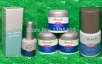 Wholesale 5pcs set colors IBD Builder Gel oz g Strong UV Gel for nail saloon art false tips Primer Bonder Intense Seal