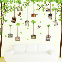 Cheap Free shipping New products for 2013 large big size tree wall sticker for nursery vinyl decal removable wall decorate stickers