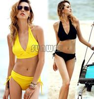 Cheap New Wholesale women Bandage swimwear print bikini set push up bikini swim suit swimming suit for women #11 SV004487