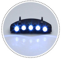 Wholesale LED CAP LIGHT HAT LIGHT GREAT For Night Fishing Hiking Camping and Hunting ZS01083