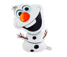 Wholesale hot sale Frozen Olaf Party Foil Helium Balloon Birthday Party Wedding Decoration Supplies Kids Gift Toy frozen
