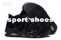 Wholesale Basketball shoes Colours More Uptempo Men s Basketball Sport Footwear Sneaker Trainers Shoes
