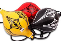 Wholesale Boxing Speed Ball Punching Bag Workout Equipment Exercise Body Building Fitness SpeedBalls with a Inflation valve