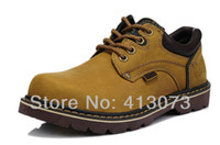 Wholesale by EMS Genuine Leather Work Shoes for Ukraine Abroad Inside Oil Resistant Outsole