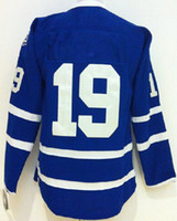 Wholesale Joffrey Lupul Blue American Premier Hockey Jerseys Ice Winter Home Away Jersey Stitched Authentic Mix Order